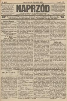 Naprzód : organ polskiej partyi socyalno-demokratycznej. 1904, nr244