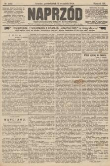 Naprzód : organ polskiej partyi socyalno-demokratycznej. 1904, nr253