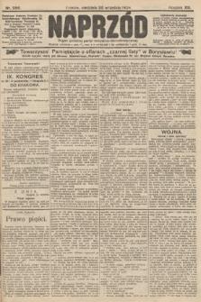 Naprzód : organ polskiej partyi socyalno-demokratycznej. 1904, nr266