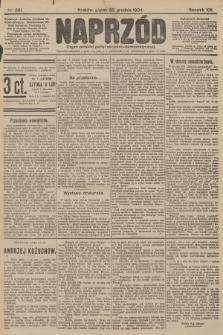 Naprzód : organ polskiej partyi socyalno-demokratycznej. 1904, nr361