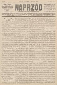 Naprzód : organ polskiej partyi socyalno-demokratycznej. 1903, nr8