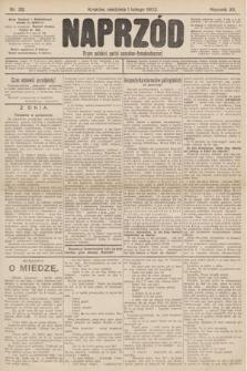 Naprzód : organ polskiej partyi socyalno-demokratycznej. 1903, nr32