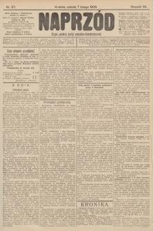 Naprzód : organ polskiej partyi socyalno-demokratycznej. 1903, nr37