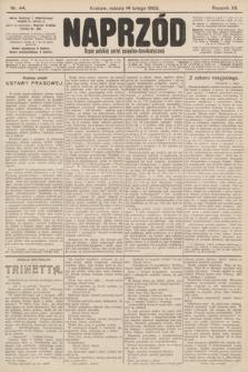 Naprzód : organ polskiej partyi socyalno-demokratycznej. 1903, nr44