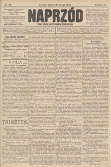 Naprzód : organ polskiej partyi socyalno-demokratycznej. 1903, nr58