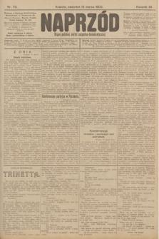 Naprzód : organ polskiej partyi socyalno-demokratycznej. 1903, nr70
