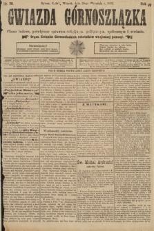 Gwiazda Górnoszlązka : pismo ludowe, poświęcone sprawom politycznym, spółecznym ioświacie. 1891, nr76
