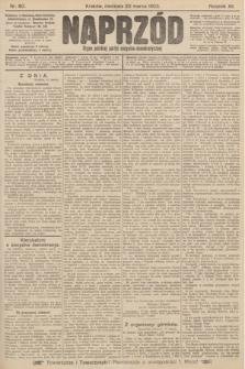 Naprzód : organ polskiej partyi socyalno-demokratycznej. 1903, nr80