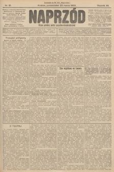 Naprzód : organ polskiej partyi socyalno-demokratycznej. 1903, nr81