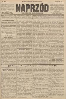 Naprzód : organ polskiej partyi socyalno-demokratycznej. 1903, nr87