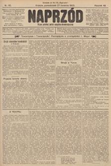 Naprzód : organ polskiej partyi socyalno-demokratycznej. 1903, nr115