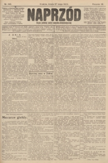 Naprzód : organ polskiej partyi socyalno-demokratycznej. 1903, nr145