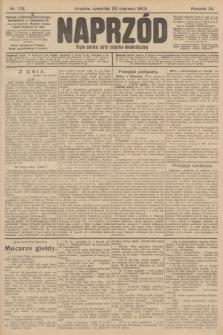 Naprzód : organ polskiej partyi socyalno-demokratycznej. 1903, nr173