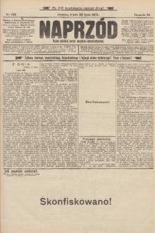 Naprzód : organ polskiej partyi socyalno-demokratycznej. 1903, nr199 (po konfiskacie nakład drugi!)