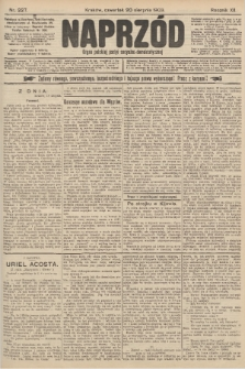 Naprzód : organ polskiej partyi socyalno-demokratycznej. 1903, nr227