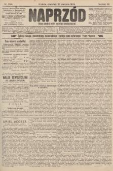 Naprzód : organ polskiej partyi socyalno-demokratycznej. 1903, nr234 [po konfiskacie nakład drugi]