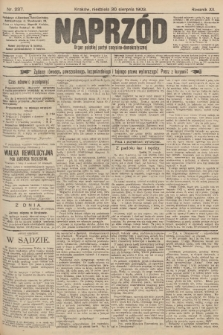 Naprzód : organ polskiej partyi socyalno-demokratycznej. 1903, nr237