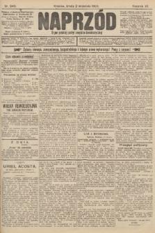Naprzód : organ polskiej partyi socyalno-demokratycznej. 1903, nr240