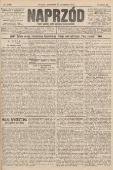 Naprzód : organ polskiej partyi socyalno-demokratycznej. 1903, nr248 [po konfiskacie nakład drugi]