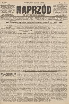Naprzód : organ polskiej partyi socyalno-demokratycznej. 1903, nr249