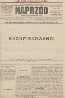 Naprzód : organ polskiej partyi socyalno-demokratycznej. 1903, nr252 (po konfiskacie nakład drugi)
