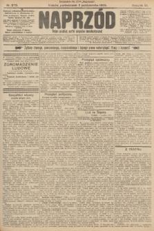 Naprzód : organ polskiej partyi socyalno-demokratycznej. 1903, nr273