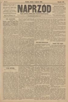 Naprzód : organ centralny polskiej partyi socyalno-demokratycznej. 1908, nr6