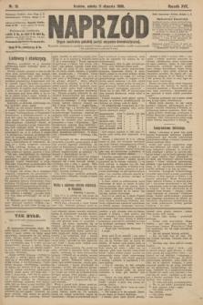 Naprzód : organ centralny polskiej partyi socyalno-demokratycznej. 1908, nr10