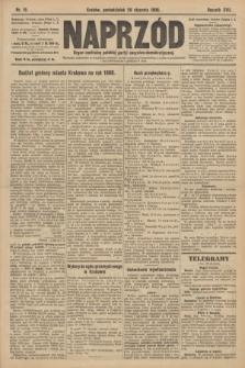 Naprzód : organ centralny polskiej partyi socyalno-demokratycznej. 1908, nr19