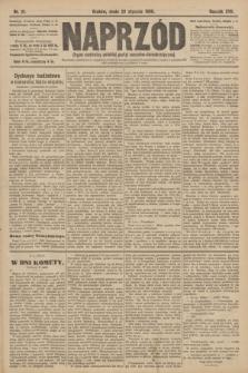 Naprzód : organ centralny polskiej partyi socyalno-demokratycznej. 1908, nr21