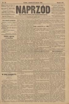 Naprzód : organ centralny polskiej partyi socyalno-demokratycznej. 1908, nr29