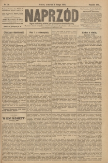 Naprzód : organ centralny polskiej partyi socyalno-demokratycznej. 1908, nr36