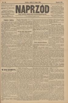 Naprzód : organ centralny polskiej partyi socyalno-demokratycznej. 1908, nr38