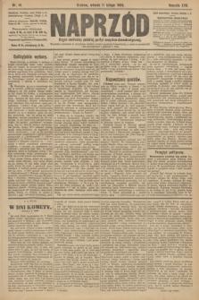 Naprzód : organ centralny polskiej partyi socyalno-demokratycznej. 1908, nr41 [nakład pierwszy skonfiskowany]