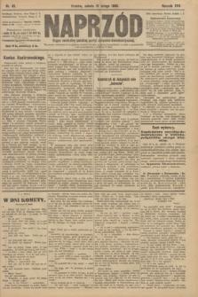 Naprzód : organ centralny polskiej partyi socyalno-demokratycznej. 1908, nr45