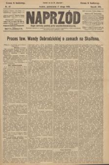 Naprzód : organ centralny polskiej partyi socyalno-demokratycznej. 1908, nr47