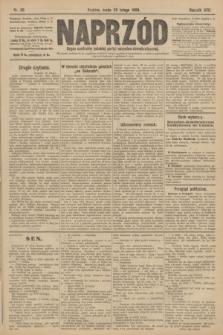 Naprzód : organ centralny polskiej partyi socyalno-demokratycznej. 1908, nr56