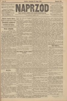Naprzód : organ centralny polskiej partyi socyalno-demokratycznej. 1908, nr57