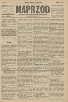 Naprzód : organ centralny polskiej partyi socyalno-demokratycznej. 1908, nr60