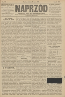 Naprzód : organ centralny polskiej partyi socyalno-demokratycznej. 1908, nr67