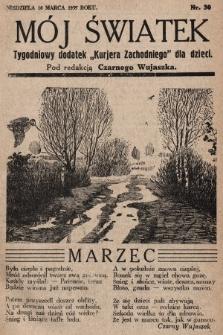 """Mój Światek : tygodniowy dodatek """"Kurjera Zachodniego"""" dla dzieci. 1935, nr30"""