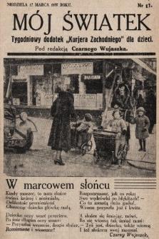 """Mój Światek : tygodniowy dodatek """"Kurjera Zachodniego"""" dla dzieci. 1935, nr31"""