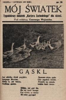 """Mój Światek : tygodniowy dodatek """"Kurjera Zachodniego"""" dla dzieci. 1935, nr52"""