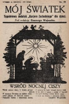 """Mój Światek : tygodniowy dodatek """"Kurjera Zachodniego"""" dla dzieci. 1935, nr59"""