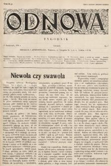 Odnowa. 1936, nr7