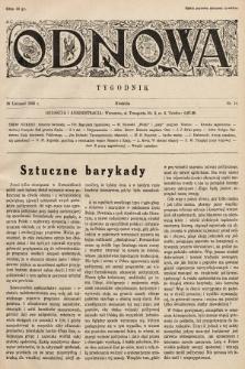 Odnowa. 1936, nr14