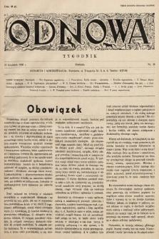 Odnowa. 1936, nr16
