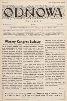 Odnowa. 1937, nr5