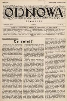 Odnowa. 1937, nr6