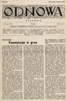 Odnowa. 1937, nr7